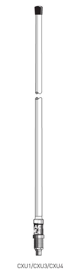 Loftnet Tetra 0db 380-400MHZ-0