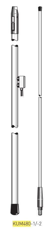 Antenna HF-SSB KUM480-2 RX in-0