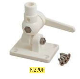Bracket Swivel Mount Plastic 4-0