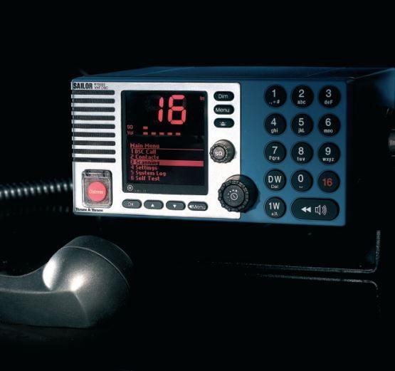 VHF RT-5022 DSC Class A Blue-0