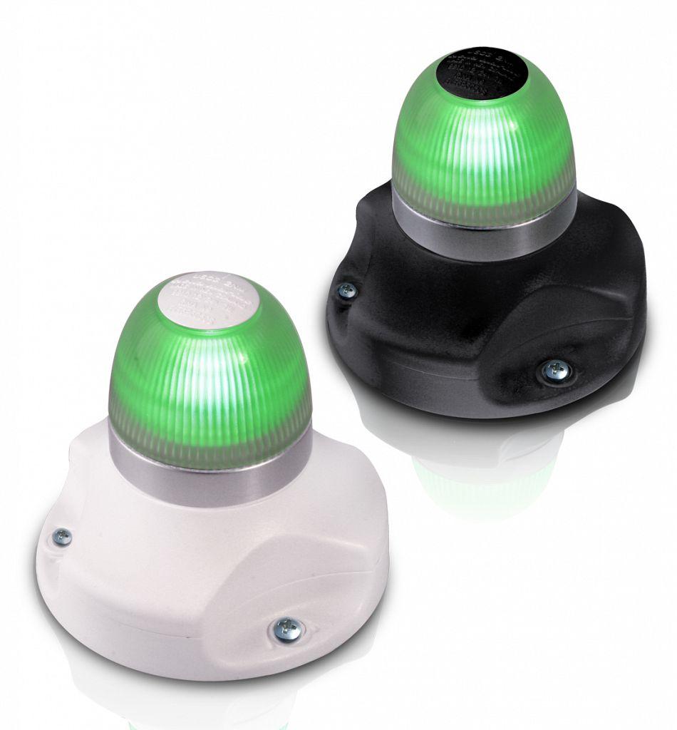 Hringljós LED, Grænt 9-33V-0