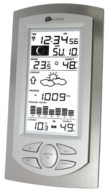 Weather station with atmospher-0