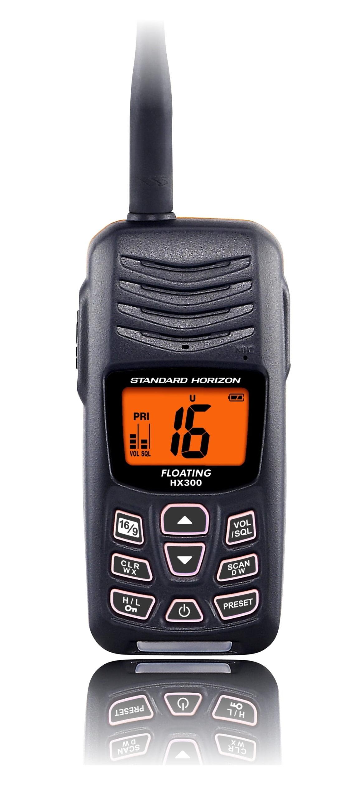 VHF HX300E handtalstöð-0